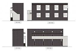 パビユウネッツ ビワジマ(pavillon honnete biwajima)[2階]の外観