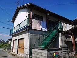 高木アパート[2号室]の外観