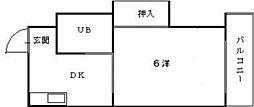 第2和田ビル[3階]の間取り