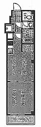 エクセレントコート津田沼[105号室]の間取り