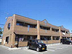 岡山県浅口市鴨方町六条院中の賃貸アパートの外観