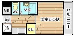 エスアイマンション[6階]の間取り