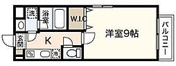 LST Okadai South[3階]の間取り