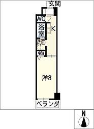 トリニティM3[2階]の間取り