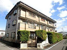 東京都日野市栄町1丁目の賃貸マンションの外観