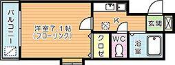 櫻館[205号室]の間取り