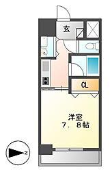 AXIS桜通内山[8階]の間取り