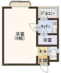 大阪府堺市堺区出島町2丁の賃貸マンションの間取り