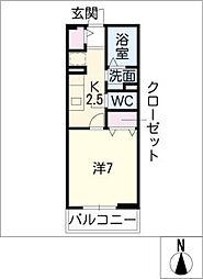 ベル スクエア[1階]の間取り