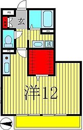 シャルムHA[2階]の間取り
