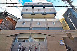 シティパレス北田辺[4階]の外観