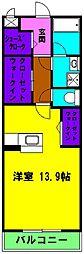 静岡県浜松市南区白羽町の賃貸マンションの間取り