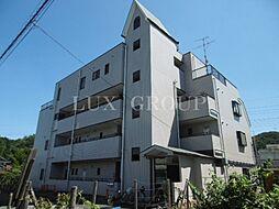 東京都青梅市長淵3丁目の賃貸マンションの外観