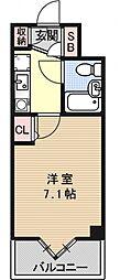 デトムワン三条通[503号室号室]の間取り