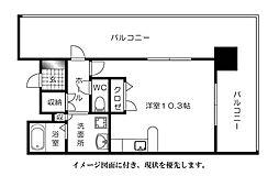 ランドマークシティ相生橋--[305号室]の間取り