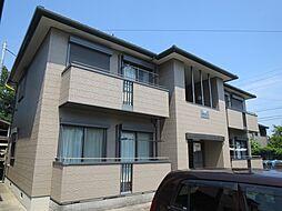 千葉県東金市東金の賃貸アパートの外観