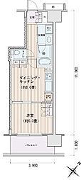 豊洲レジデンス[0603号室]の間取り
