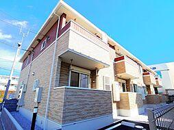 東京都東村山市青葉町2丁目の賃貸アパートの外観
