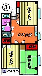 カネナカ第5ビル[403号室]の間取り