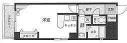 エナジー吉野町[603号室]の間取り