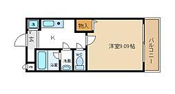 サン・プリムローズII[1階]の間取り