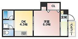 ツーアイコーポ[2階]の間取り
