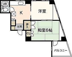 スタープラザ横川[3階]の間取り