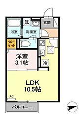 (仮称)D-room亀井野[103号室]の外観