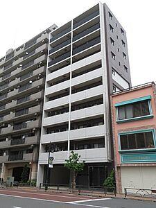 外から見た様子です。9階部分の角部屋になります。,2LDK,面積54.18m2,価格5,180万円,JR山手線 鶯谷駅 徒歩8分,JR常磐線 日暮里駅 徒歩10分,東京都荒川区東日暮里4丁目34-10