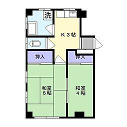 曙荘[2階]の間取り