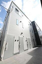 東京都板橋区仲宿の賃貸アパートの外観