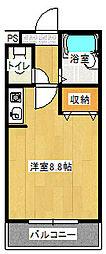 ツインアークス[203号室号室]の間取り
