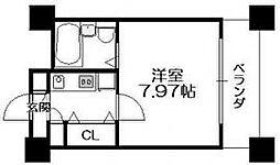 HF梅田レジデンスTOWER[1704号室]の間取り