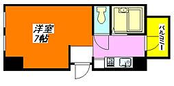 清洲・プラザ・高井田 203号室[2階]の間取り