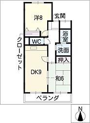 エミネンス覚王山[4階]の間取り