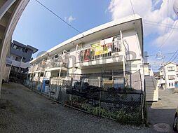 大阪府箕面市如意谷1丁目の賃貸アパートの外観