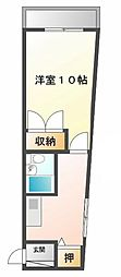 Collection武庫川[4階]の間取り