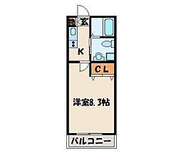 PIAA NAKANO[1階]の間取り
