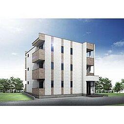 (仮称)幸心2丁目新築アパート A棟[2階]の外観