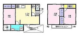 [一戸建] 東京都北区上十条4丁目 の賃貸【/】の間取り