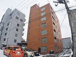 北海道札幌市中央区南十三条西7丁目の賃貸マンションの外観