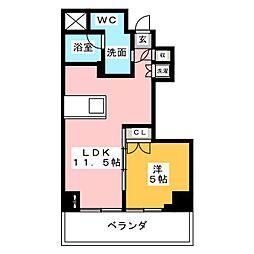 SK BUILDING−7[3階]の間取り