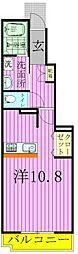 プレノンブル−[102号室]の間取り