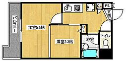 「デリード金閣寺道」[5階]の間取り