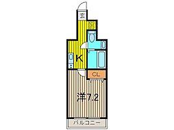 アルファコート西川口12[7階]の間取り
