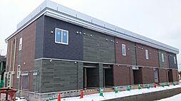 北海道札幌市手稲区星置二条7丁目の賃貸アパートの外観
