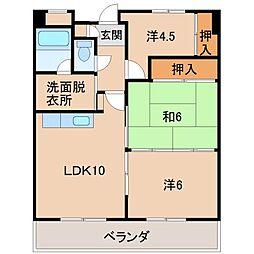K.S.Tビル[3階]の間取り