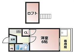布施駅 3.5万円