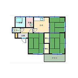 [一戸建] 埼玉県深谷市東方 の賃貸【/】の間取り