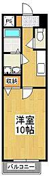 メゾンダンディ[7階]の間取り